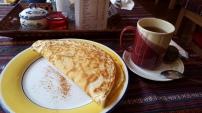 Apple Cinnamon and Honey Pancake